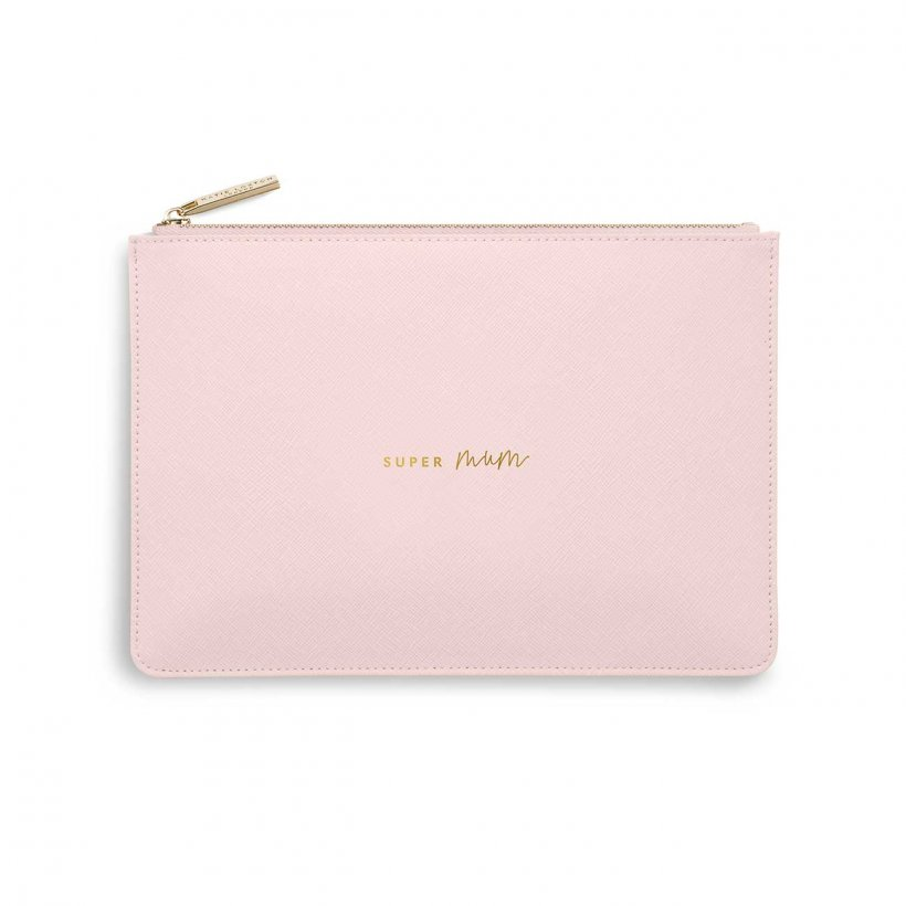 Katie Loxton Perfect Pouch | Super Mum | Pink