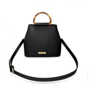 Katie Loxton Tori Tortoiseshell Bag | Black