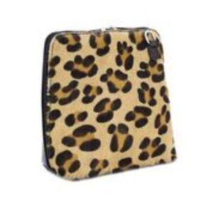 Moda cross body bag- leopard print