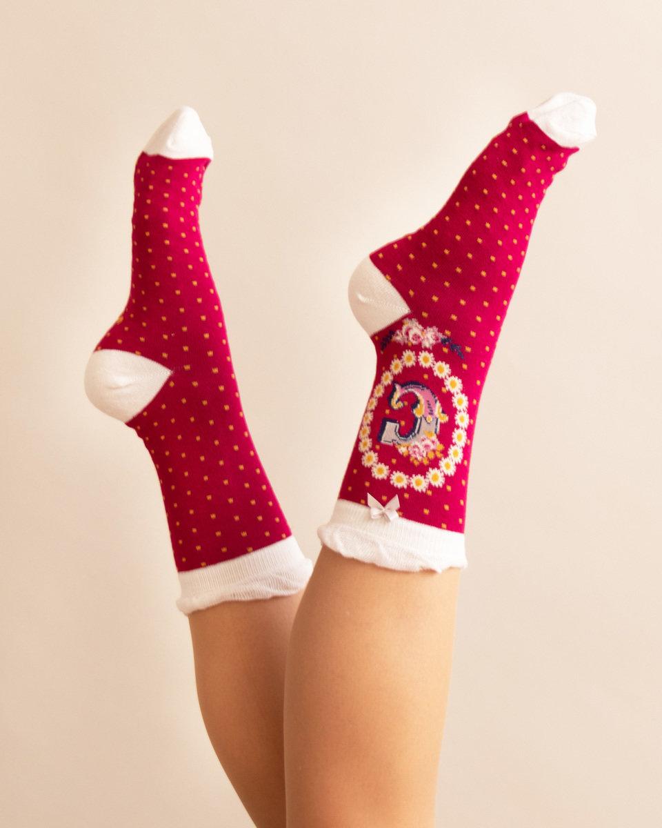 Powder A-Z Ankle Socks - C
