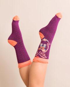 Powder A-Z Ankle Socks - K