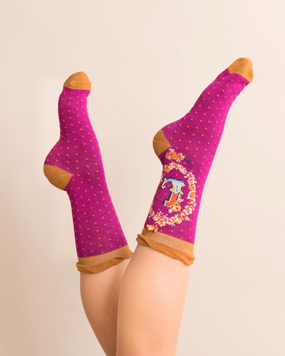 Powder A-Z Ankle Socks - L