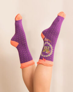 Powder A-Z Ankle Socks - M