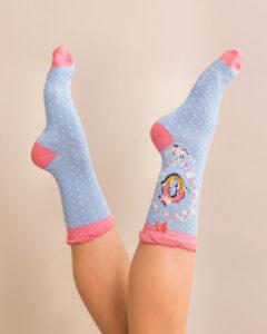 Powder A-Z Ankle Socks - O