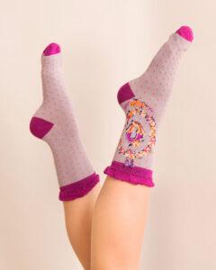 Powder A-Z Ankle Socks - Q