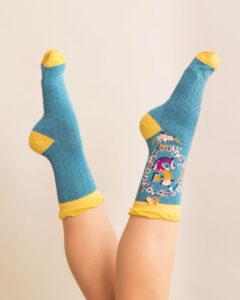 Powder A-Z Ankle Socks - S