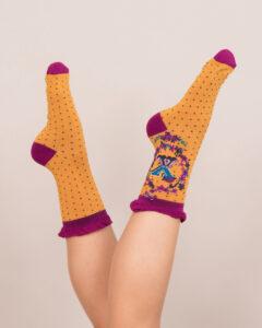 Powder A-Z Ankle Socks - X