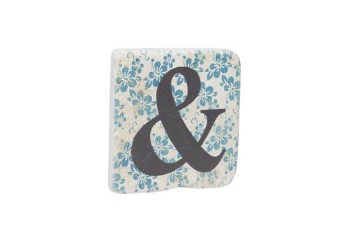 Heaven Sends Resin A-Z Alphabet Coaster