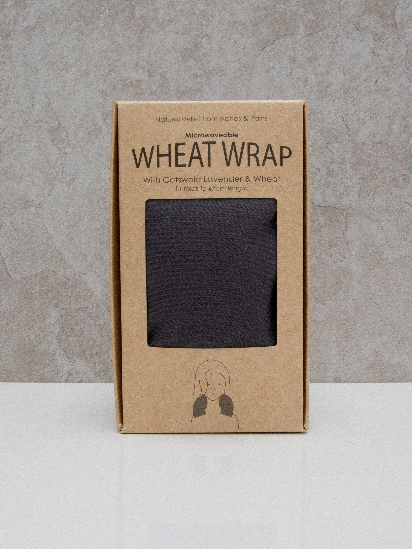 Chalk Wheat Wrap | Jersey | Charcoal