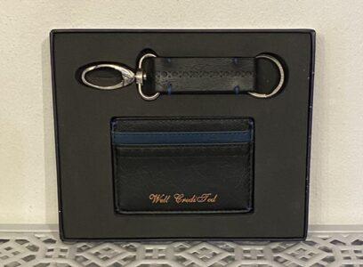 Ted Baker Card Holder & Key Ring Boxed Set