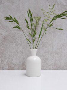 Chalk Porcelain Bud Vase
