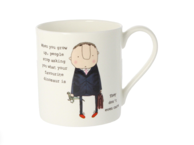 """Rosie Made A Thing """"When you grow up ..... Mug"""