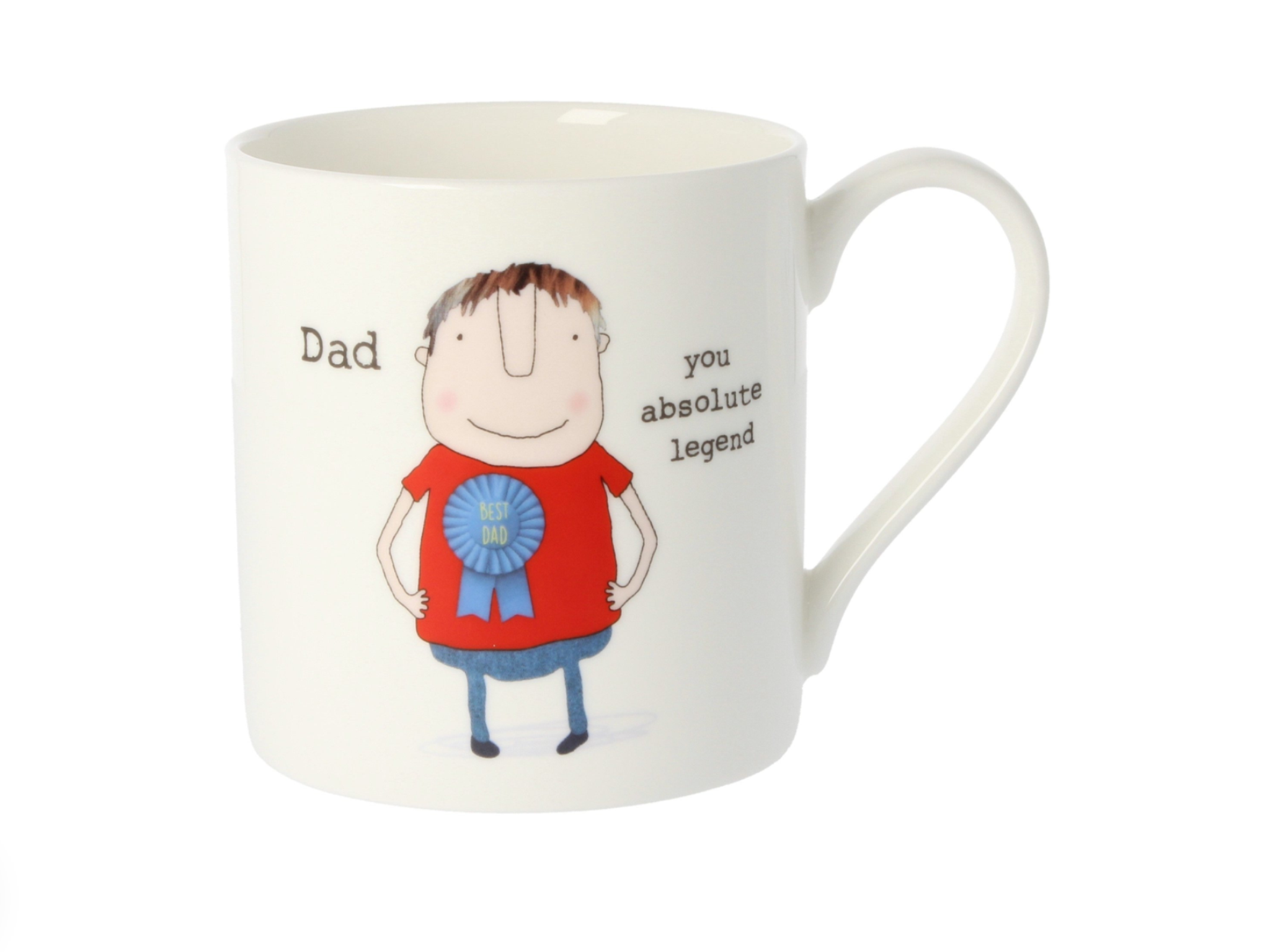 "Rosie Made A Thing ""Dad You Absolute Legend"" Mug"