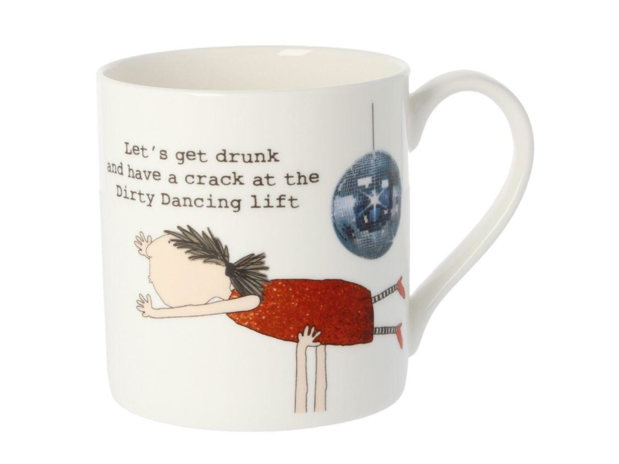 "Rosie Made A Thing ""Let's Get Drunk.... Mug"