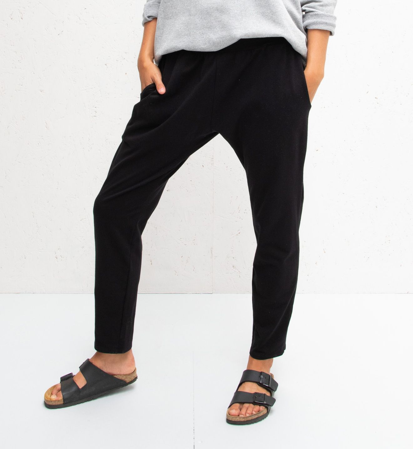 Chalk Robyn Pants Black
