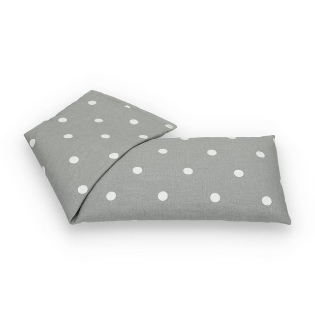 The Wheat Bag Company Grey Polka Dot