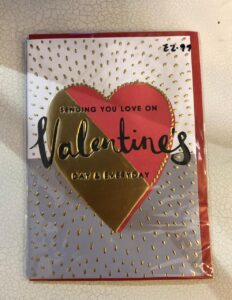 Louise Tiler Valentines Card