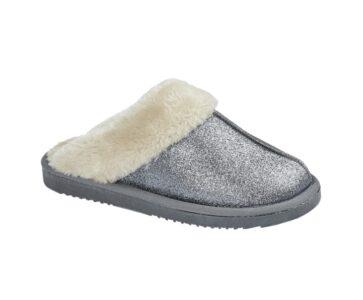 Jo & Joe Sparkle Blue Slippers