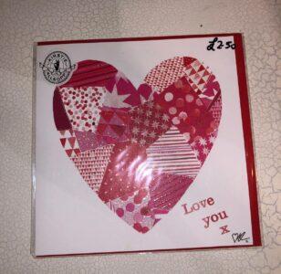Card Mix Valentines Card