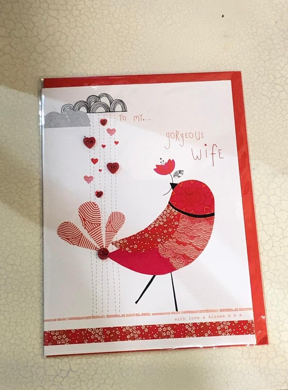 Valentine's Card To My Gorgeous Wife