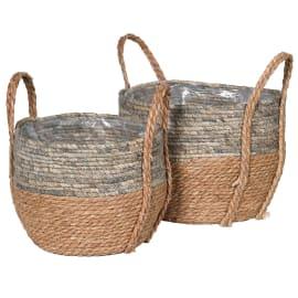 Coach House Straw & Corn Baskets