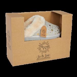 Jo & Joe Tiggi Light Grey Slippers