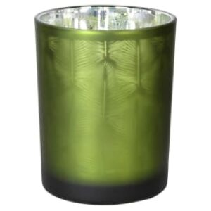 Coach House Green Frosted Votive