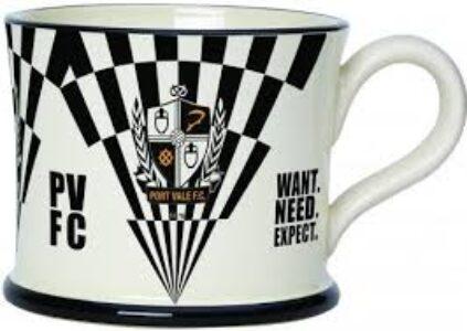 Moorland Pottery 'PVFC' Mug
