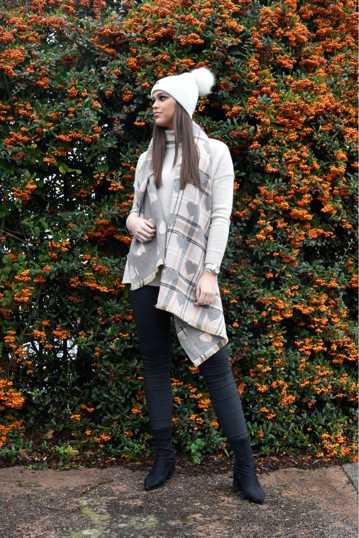 Jayley Cashmere Blend Wrap