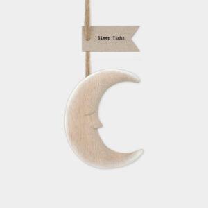 East of India Hanging Moon 'Sleep Tight'