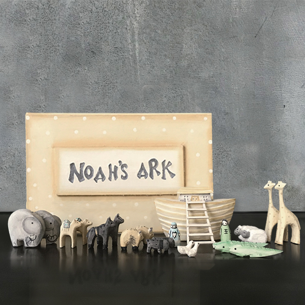 East of India Boxed Noah's Ark Set