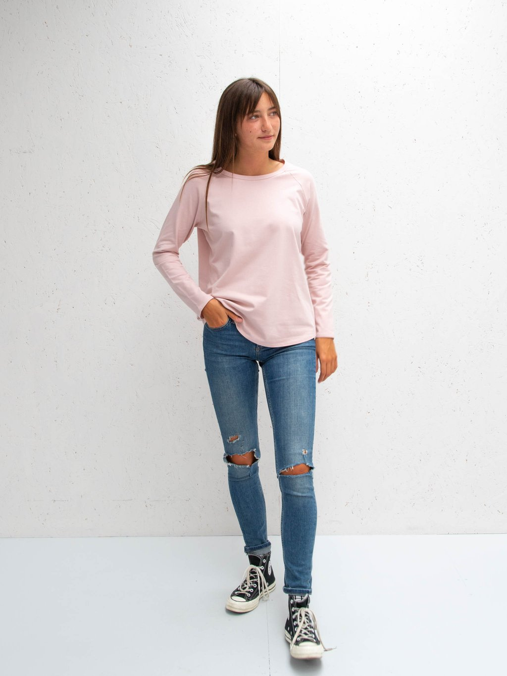 Chalk Tasha top pink