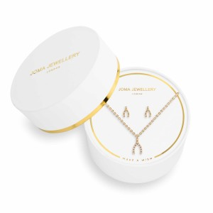 Joma jewellery 'make a wish' earring and necklace set