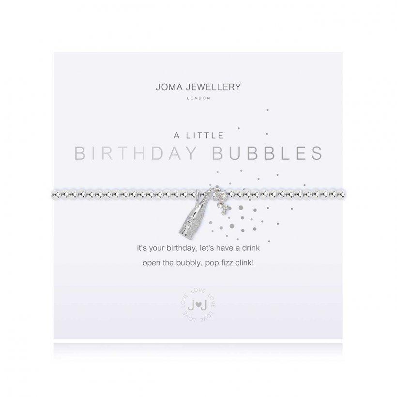 Joma Jewellery 'Birthday Bubbles' bracelet