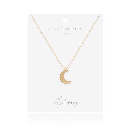 Joma jewellery moon necklace