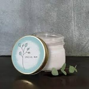 East of India glass candle 'special mum'