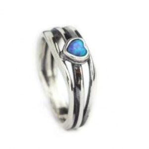 Aviv Sterling Silver Heart Ring
