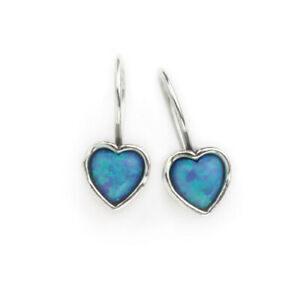Aviv Sterling Silver Heart Earrings