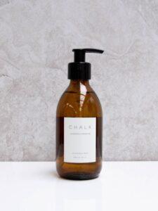 Chalk Amber Glass Lavender & Geranium Hand & Body Wash