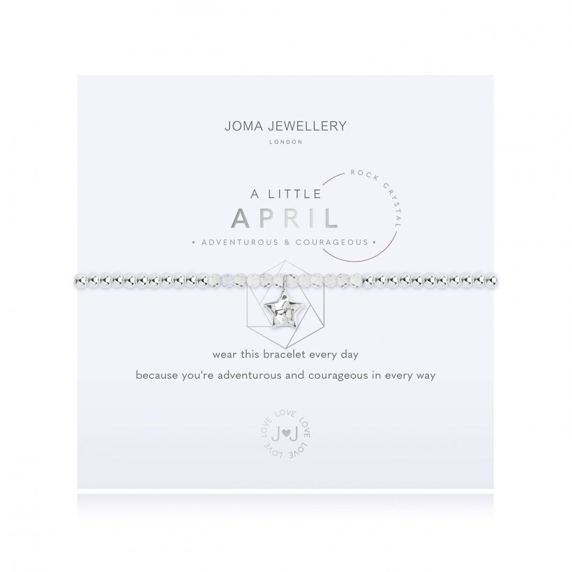 Joma 'April' Birthstone Bracelet