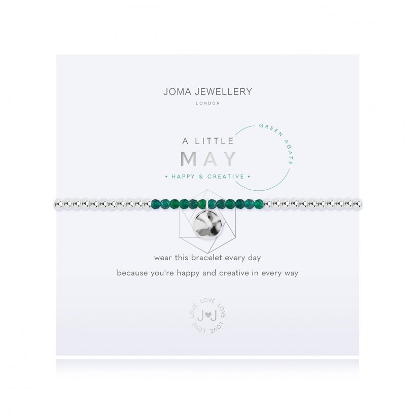 Joma 'May' Birthstone Bracelet