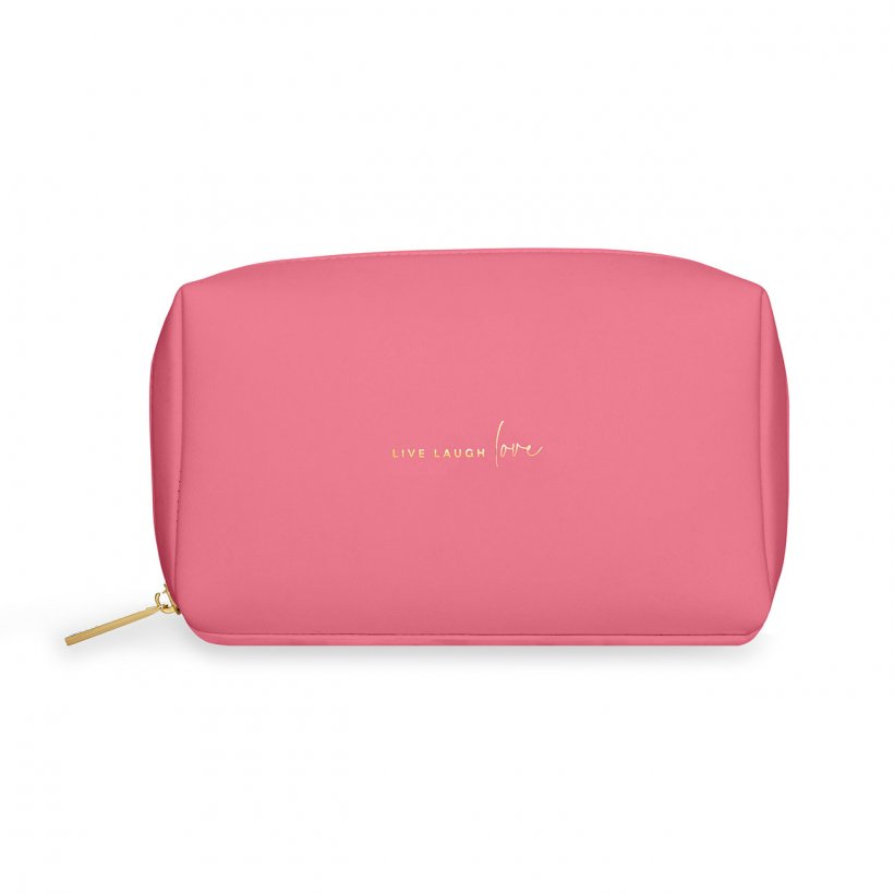 Katie Loxton Cosmetic Bag 'Live Laugh Love'