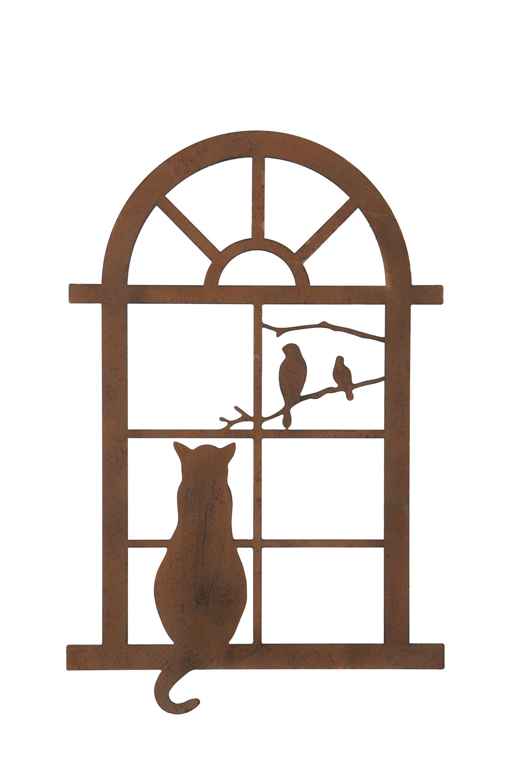 Small Cat in Window