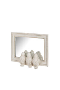 Triple Bird Mirror (Collection only)