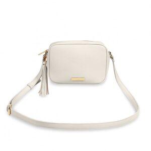 Sophia Tassel Crossbody bag - off white