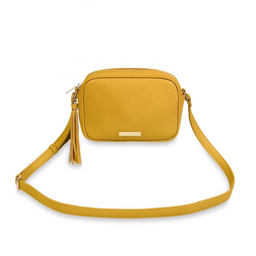 Sophia Tassel Crossbody bag - Ochre