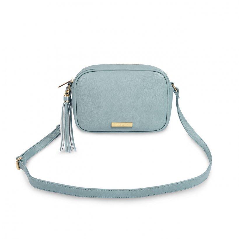Sophia Tassel Crossbody bag - Pale blue