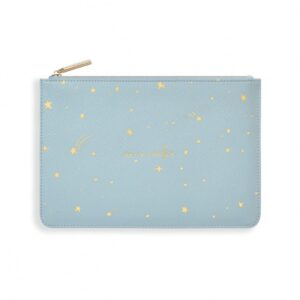 Gold Print Perfect Pouch - one in a million