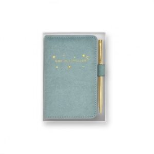 Mini Notebook and pen set - one in a million