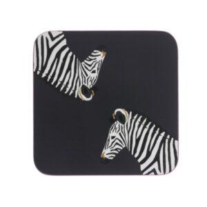Zebra Coasters (set of 4)